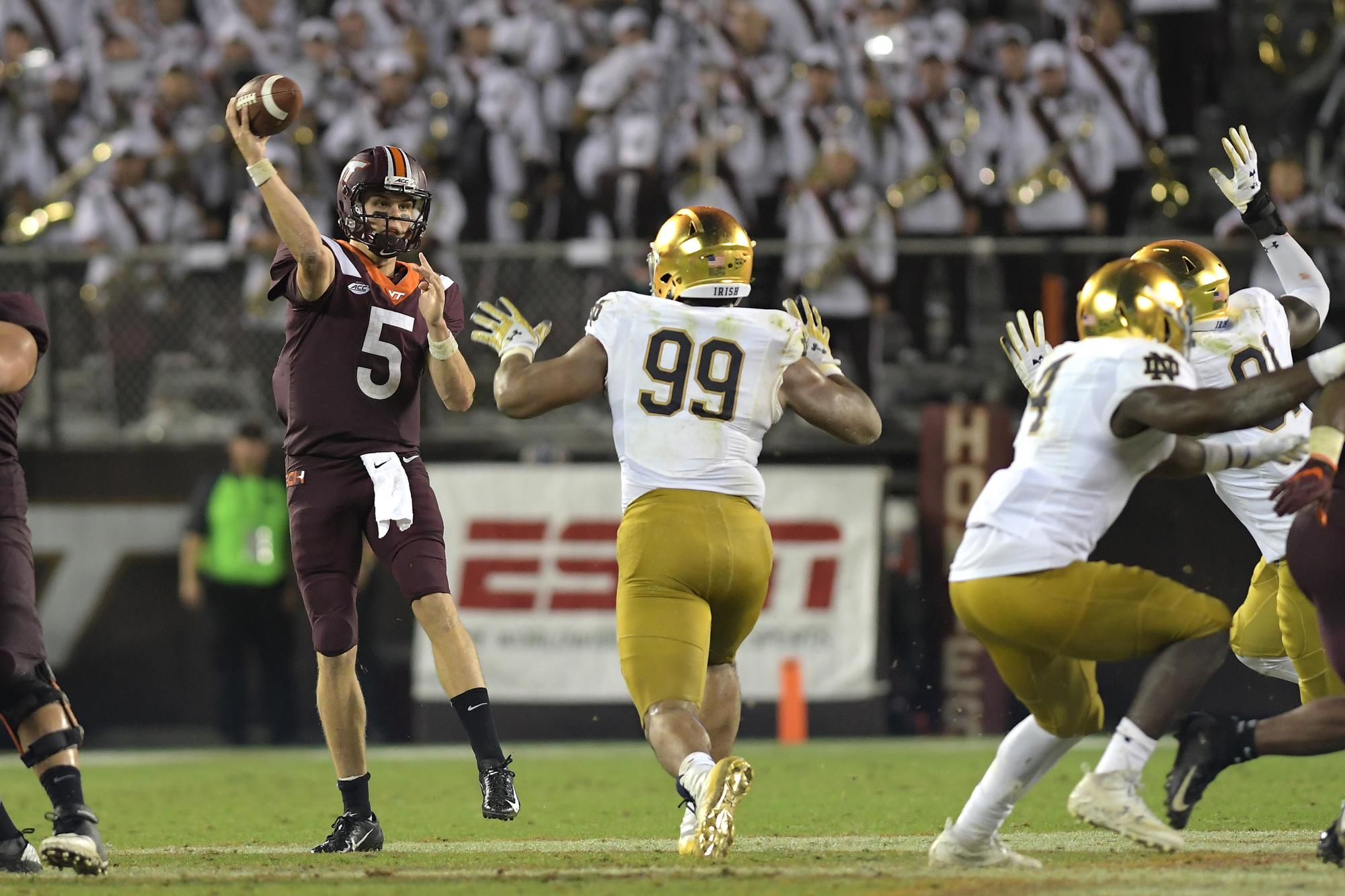 Takeaways From The Hokies Loss To Notre Dame Virginia Tech Athletics