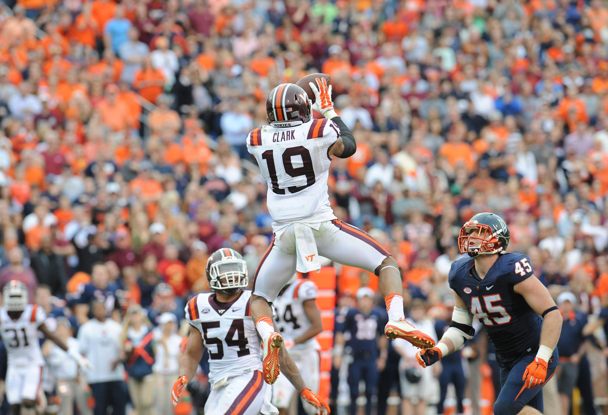 Hokies With Many Great Memories In Rivalry With Uva