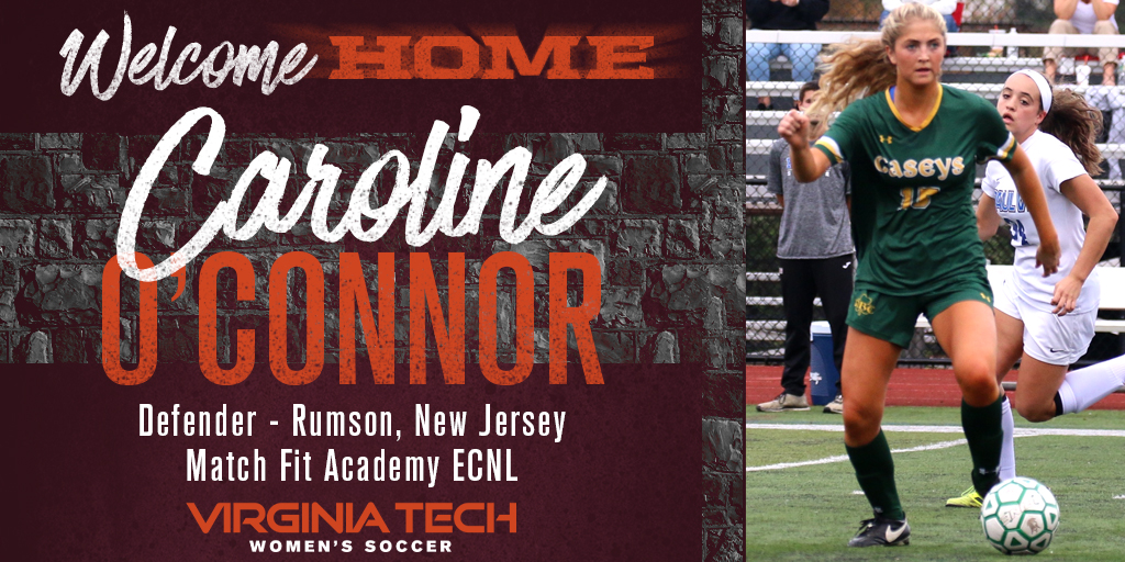 Get To Know Our Newest Hokie Caroline O Connor Virginia Tech Athletics
