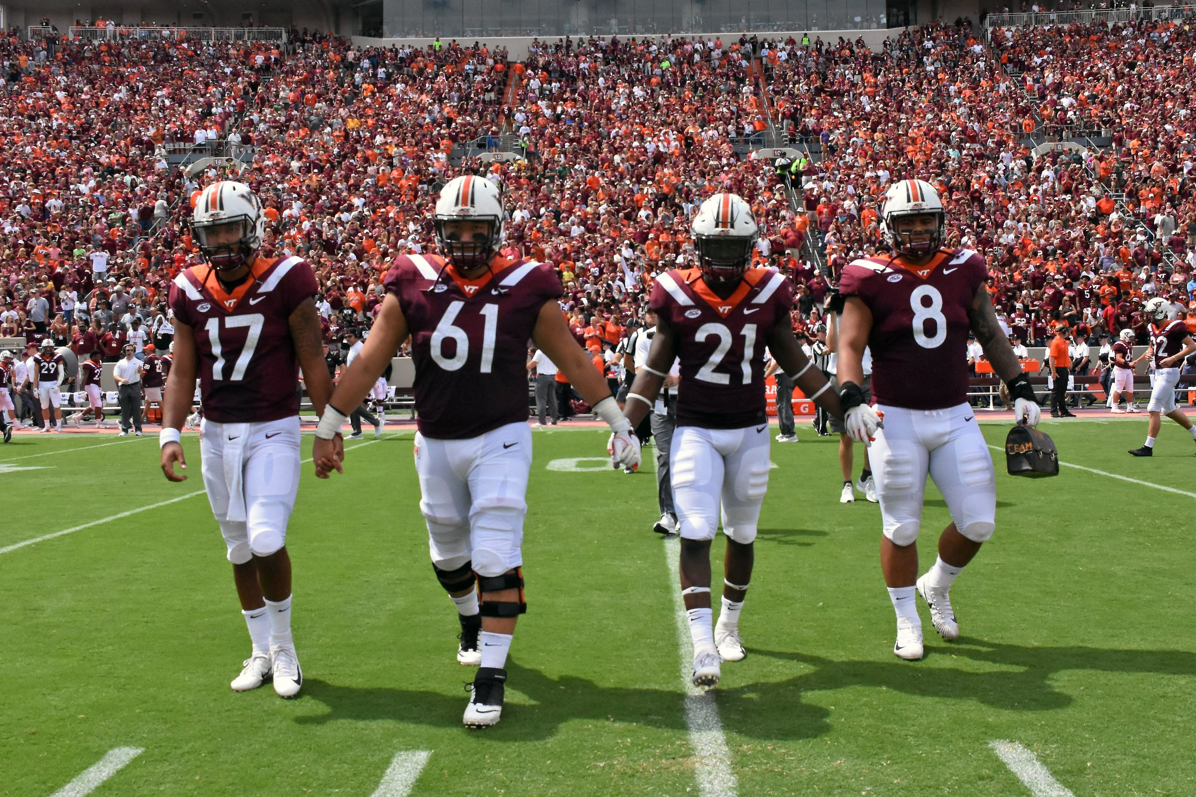 more photos 5935b bd1eb No. 13 Hokies set to face East Carolina at Lane this weekend ...