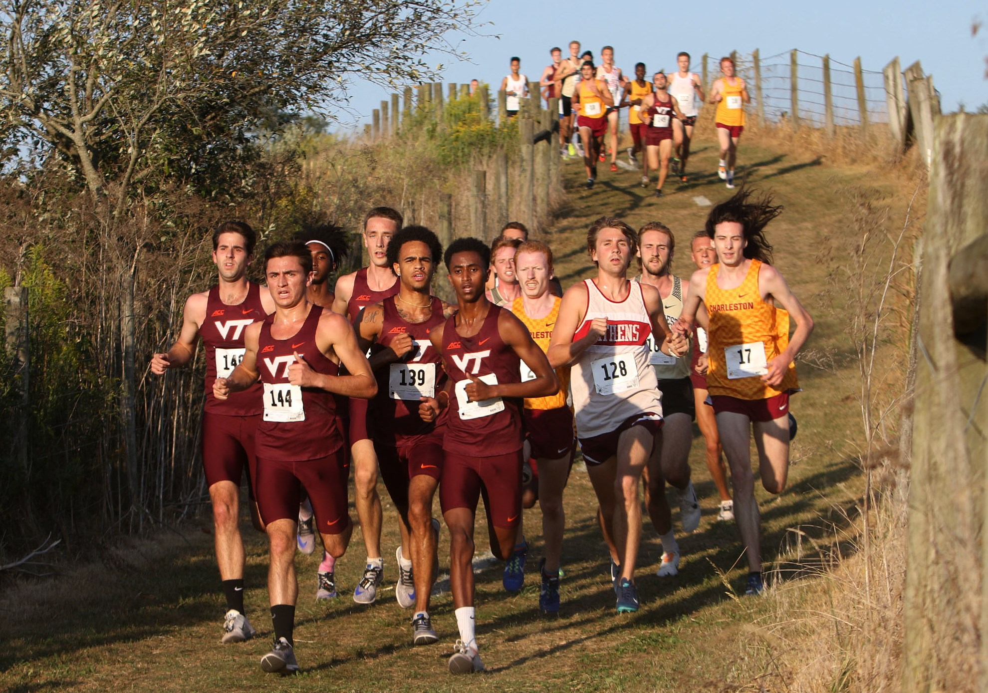 Tech men kick off 2019 season opener with team title