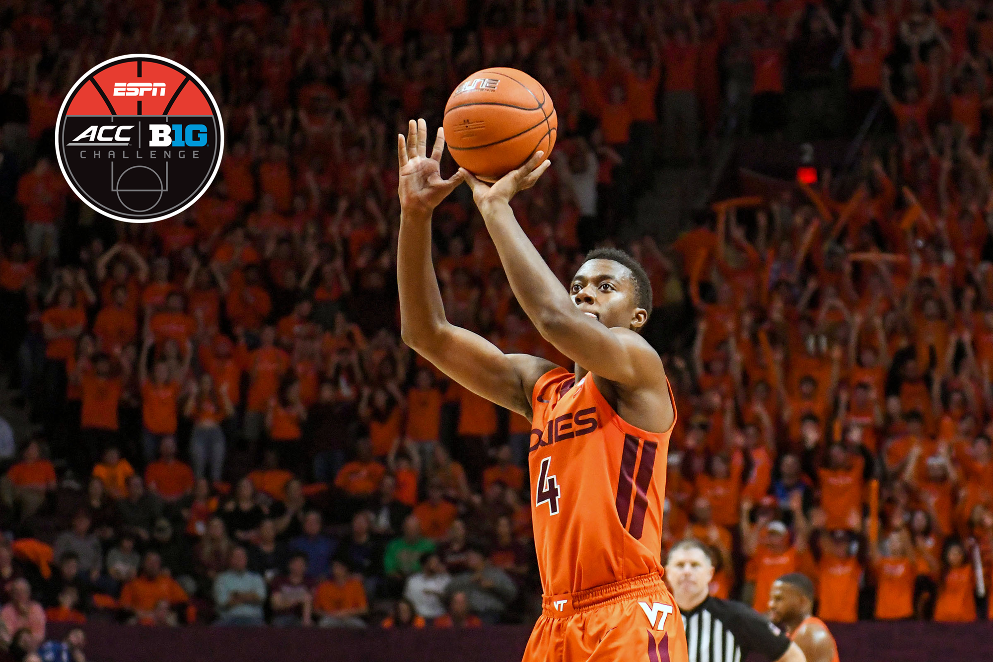 Tech To Face Penn State In Acc B1g Challenge Virginia Tech Athletics