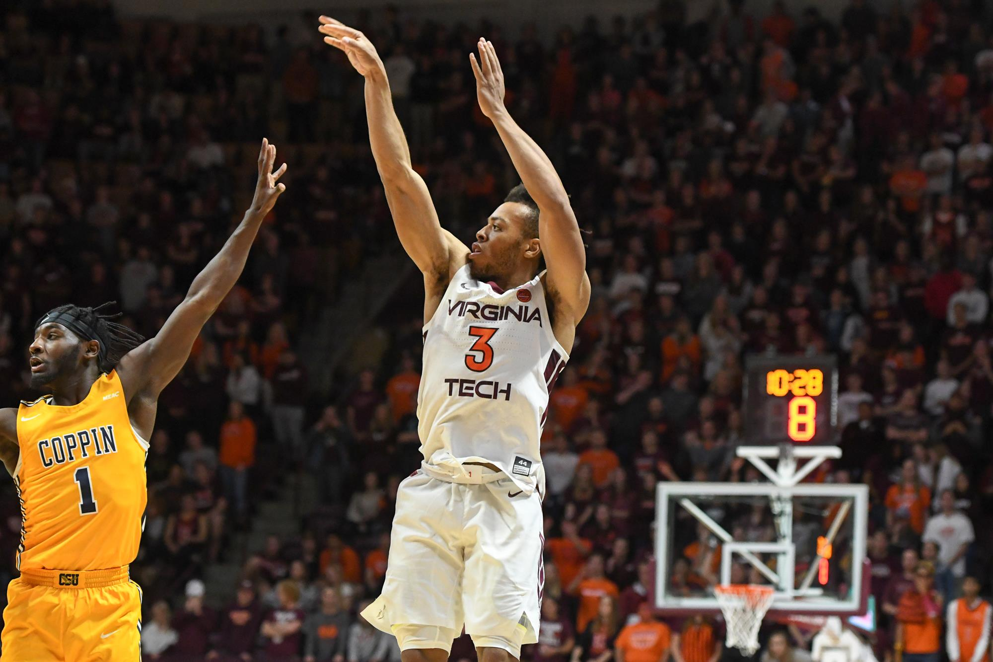 Tech Announces Matchups With Vmi Coppin State And Longwood Virginia Tech Athletics
