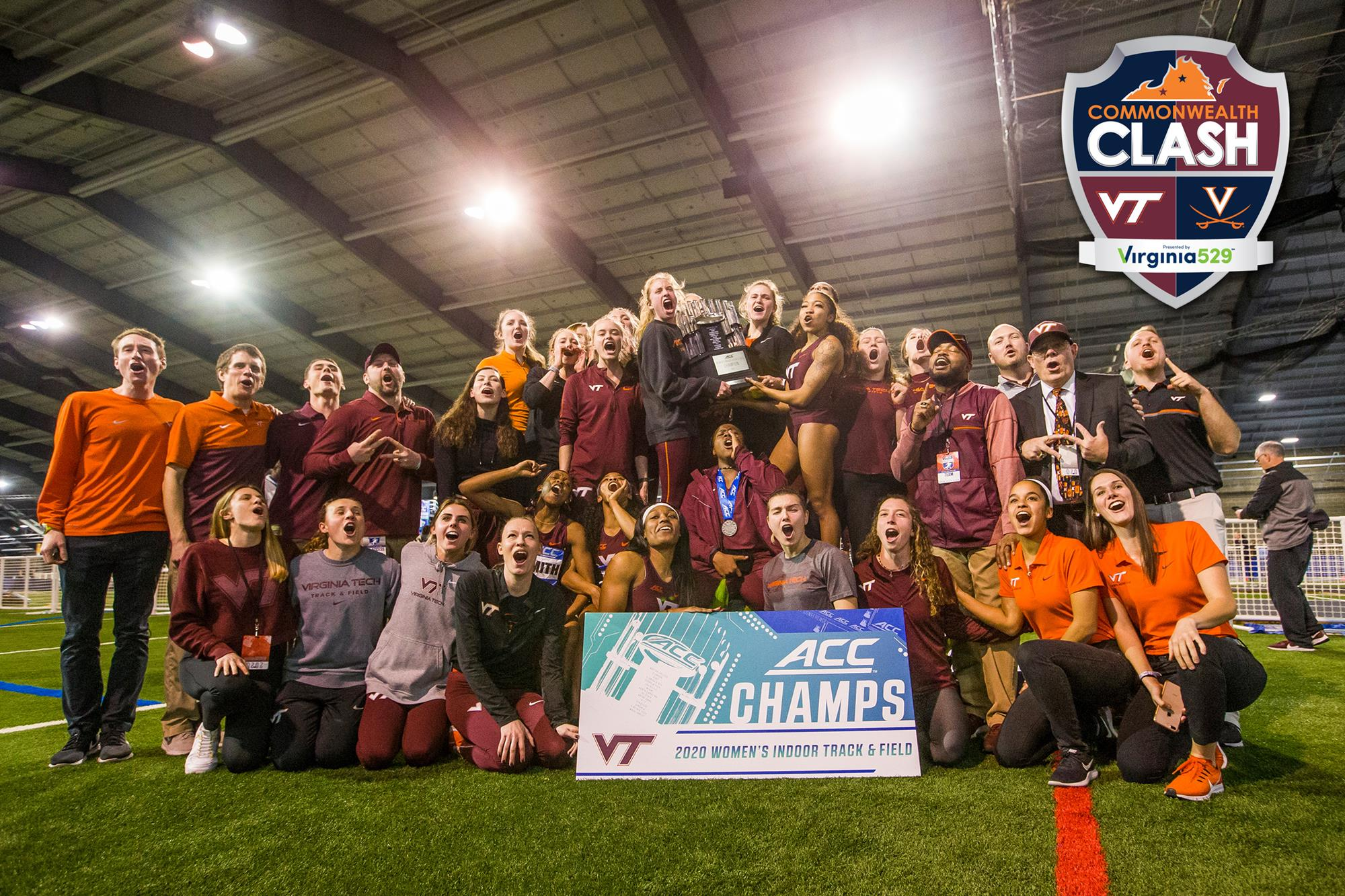 Tech Women S Track Team Claims First Acc Indoor Title Since 2008 Virginia Tech Athletics